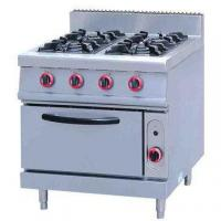 Buy cheap Commercial Equipment Gas Range With 4- Burner & Oven from wholesalers