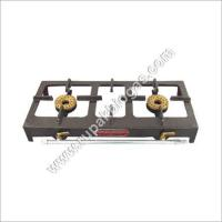 Buy cheap Biogas Double Burner Cast Iron Painted Stove from wholesalers