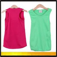 Buy cheap Blank t-shirts child colorful cheap tank tops from wholesalers