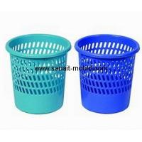 Buy cheap high accuracy plastic injection wastepaper basket moulds p15060104 from wholesalers