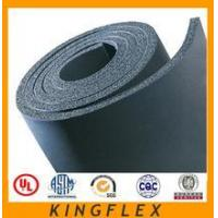 Buy cheap NBR PVC black closed cell fireproof waterproof flexible thermal insulation sheet from wholesalers