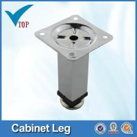 Buy cheap Adjustable metal caps for furniture legs from wholesalers