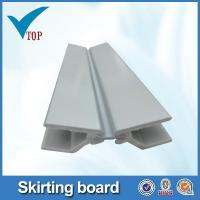 Buy cheap Aluminum skirting board plastic plinth from wholesalers
