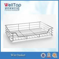 Buy cheap Stainless Steel Wire basket with pull-out rail from wholesalers