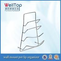 Buy cheap hanging wall pocket organizer wall mout pot lip organizer from wholesalers