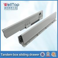 Buy cheap Furniture full extension metal drawer slides tandem box from wholesalers