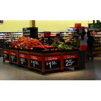 Buy cheap Produce Display Bins, Wooden Fruit And Veg Display Units from wholesalers