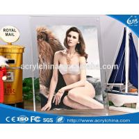 Buy cheap Clear Acrylic Sexy Photo Frame Plexiglass Acrylic Hot Open Sexy Girls Picture Frame from wholesalers