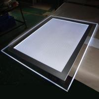 Buy cheap Hot sale wall mounting single side acrylic crystal magnetic led light box / acrylic signage product