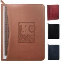 Buy cheap Pedova Zippered Custom Padfolio with Smartphone Pocket from wholesalers