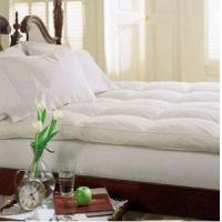 Buy cheap Classic Molded Memory Foam Pillow Cluster Top Baffle Box Feather Bed from wholesalers