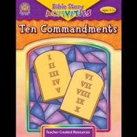 Buy cheap Christian Products Bible Stories & Activities: Ten Commandments TCR7050 from wholesalers