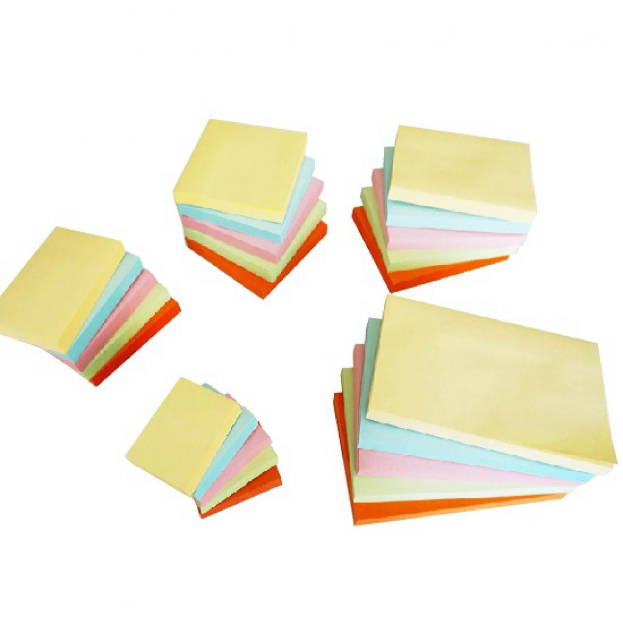 Buy cheap Universal self stick Removable Notes, 100 Sheets Pastel color from wholesalers