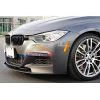 Buy cheap P Style Real carbon fiber Front Lip spoiler for BMW F30 F31 M-Tech M-Sport Bumper 2012UP from wholesalers