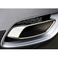 Buy cheap 5.0 Oval Exhaust Tips Muffler Pipes Tip Trims Fit For BMW E71 X6 35i 30D 35D 40D 1PAIR 2008up from wholesalers
