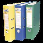 Buy cheap O1S Single PVC Lever arch file A4 8cm, with metal protector from wholesalers