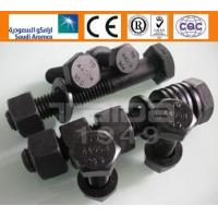 Buy cheap A490/A490M Heavy hex structural bolts HEX BOLTS & NUTS from wholesalers