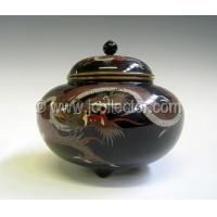 Buy cheap Japanese Cloisonne Covered Jar, Dragon Motif - JPXJ2820 from wholesalers