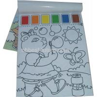 Buy cheap MC1504 Paint with water coloring book from wholesalers