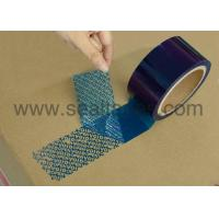 Buy cheap 25# blue PT HR security packing tape from wholesalers