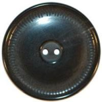Buy cheap Black Horn 2-Hole Button w/ Thin Rim 7/8 from wholesalers