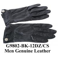 Buy cheap Men Genuine Leather Gloves Snap On G9802 from wholesalers