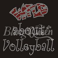 Buy cheap Rhinestone Transfers Wild About Volleyball~ from wholesalers