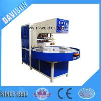 Buy cheap 12KW 4 Stations Automatic Turntable Radio Frequency PVC Blister Packaging Machine from wholesalers