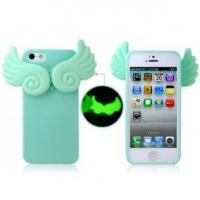 Buy cheap Glow-in-the-Dark Angel's Wings Protective Case for iPhone 5 from wholesalers
