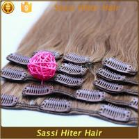 Buy cheap 2016 New Hot Style 100% Brazilian Hair Clip-on Hair Extension from wholesalers