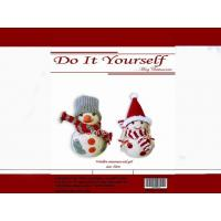 Buy cheap DIY kits Christmas Decoration- Woolen Snowman EXC01059C-W,01062C-W 10CM from wholesalers