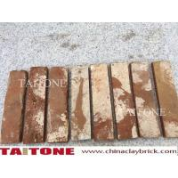 Buy cheap red used brick veneers for wall decoration from wholesalers