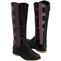 Buy cheap Reef Santa Marta Juniors Boot - Black/Multi from wholesalers