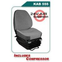 Buy cheap KAB 555 - 24V Air Suspension Heavy Equipment Seats from wholesalers