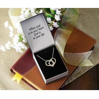 Buy cheap God's Heart Crystal Pendant Necklace Jewelry from wholesalers