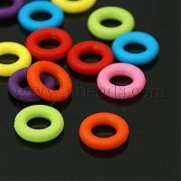 Buy cheap Mixed Color Bubblegum Acrylic Linking Rings for Jewelry Maki...(X-MACR-G024-M) from wholesalers