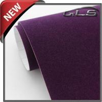 Buy cheap Velvet Fabric Car Wrap Film 1.35m*15m Per Roll With Bubble Free from wholesalers