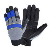 Buy cheap EVA Knuckle Protected Anti-vibration Tool Mechanics Gloves from wholesalers