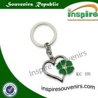 Buy cheap Heart shaped kirsite... Souvenir keychain from wholesalers