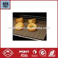 Buy cheap Ptfe Teflon mesh fabric for baking mat of bread,oven liner,pizza baking basket from wholesalers