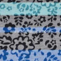 Buy cheap T/C burn out knitted fabric with printing very light weight from wholesalers