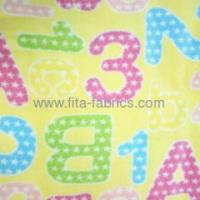 Buy cheap Good printed Polyester Micro polar fleece supplying from wholesalers