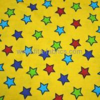 Buy cheap lucky star printed cotton baby flannel fabric from wholesalers