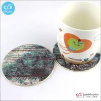 Buy cheap Products OEM wholesale cheap beer coaster/promotional absorbent paper coasters from wholesalers