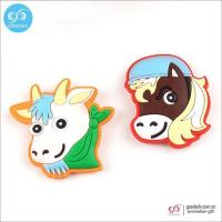 Buy cheap Products 3D animal magnetic stickers soft pvc fridge magnet for home decoration from wholesalers