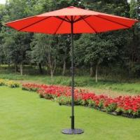 Buy cheap Prime Garden 9ft Market Umbrella with Crank -Red from wholesalers
