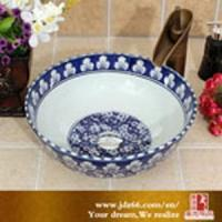 Buy cheap Agriculture Jingdezhen Good Quality Factory Wholesale Ceramic Basin Price from wholesalers