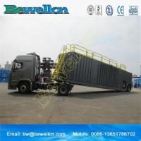Buy cheap 77m3frac tank with wheel for use in the oil industry product
