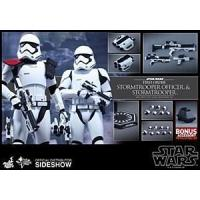 Buy cheap Hot Toys Star Wars The Force Awakens Stormtrooper Officer/Stormtrooper 2 Pack from wholesalers