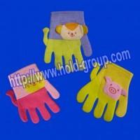 Buy cheap lion, cat, pig Cartoon bath gloves from wholesalers
